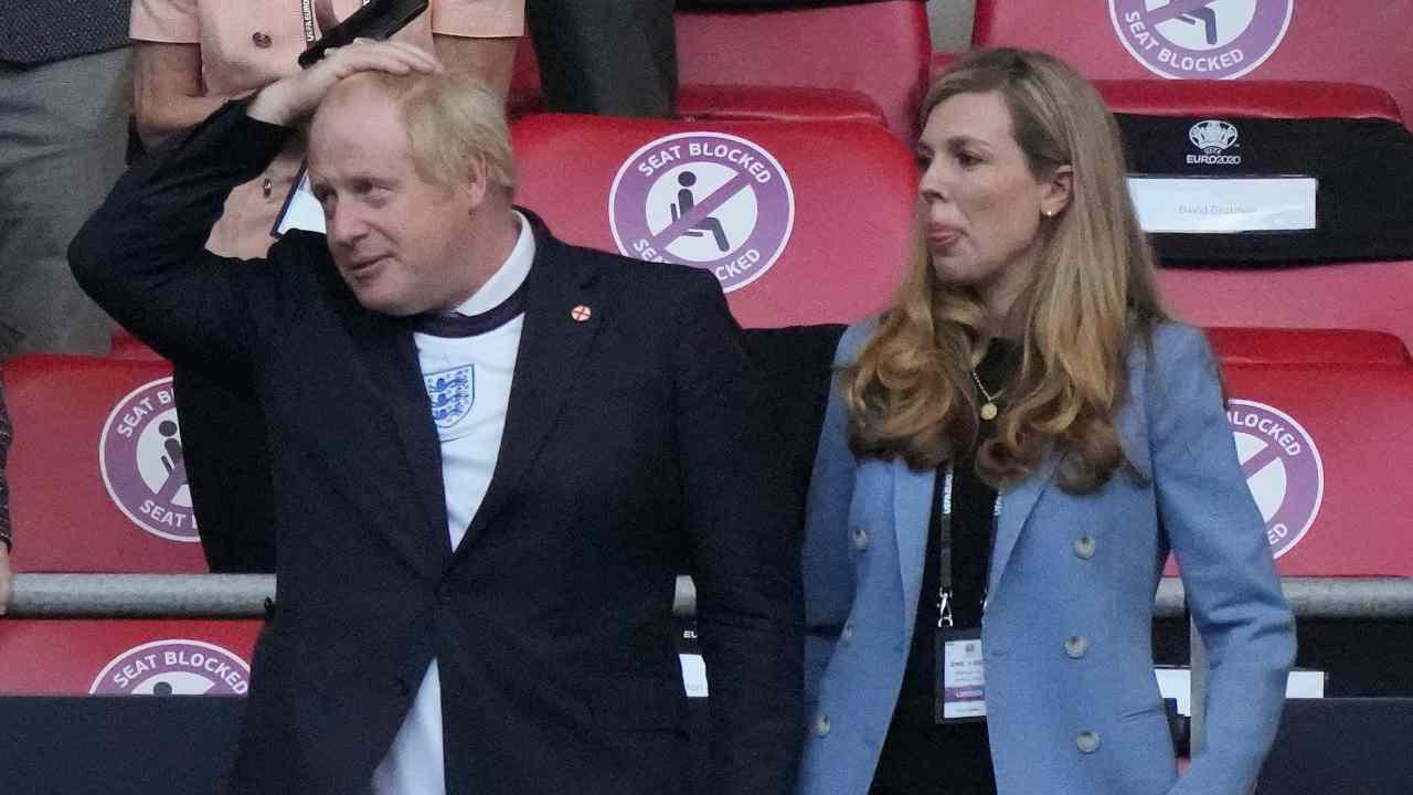 Italia Inghilterra Boris Johnson.