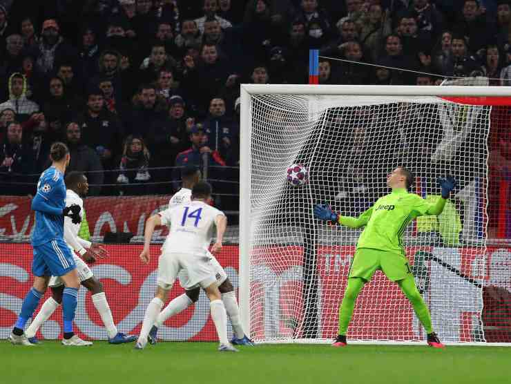 Lione-Juve 1-0 Getty Images