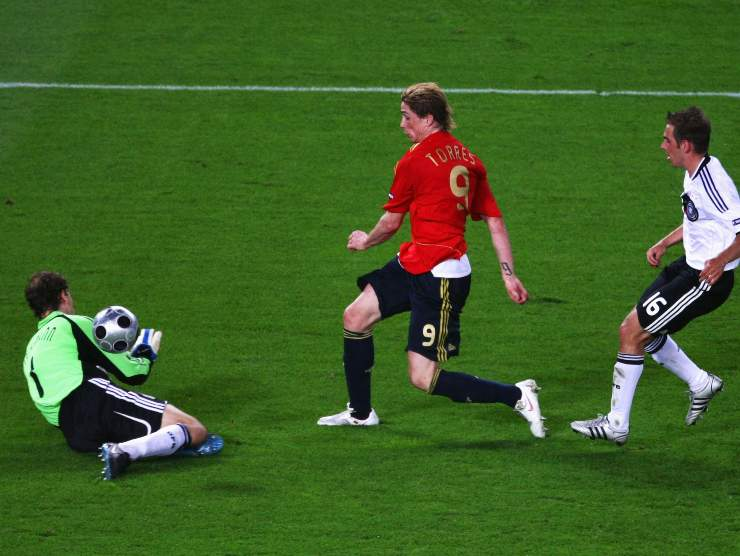 Torres gol contro Germania - Getty Images