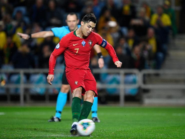 Cristiano Ronaldo tiro - Getty Images