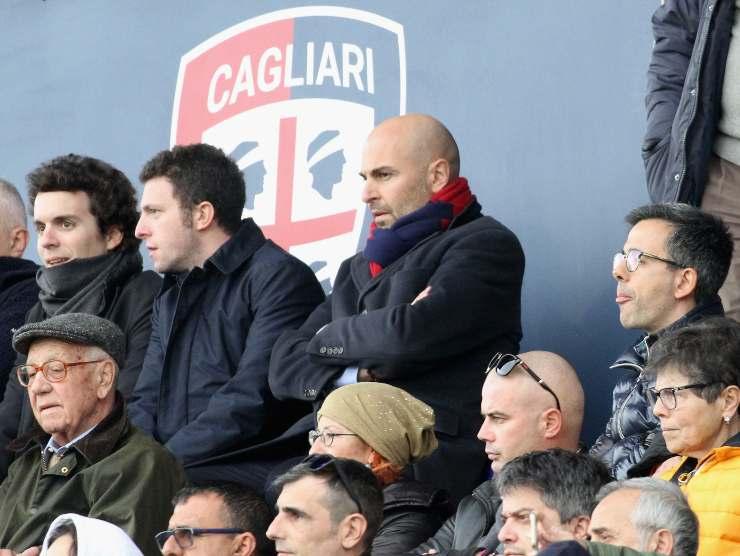 tribuna Cagliari - Getty Images