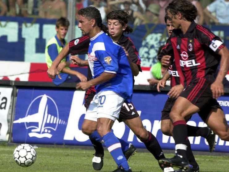 Baggio al Brescia - Getty Images