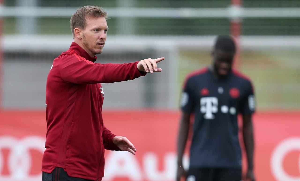 Bayern Monaco, Julian Nagelsmann mentre da delle direzioni