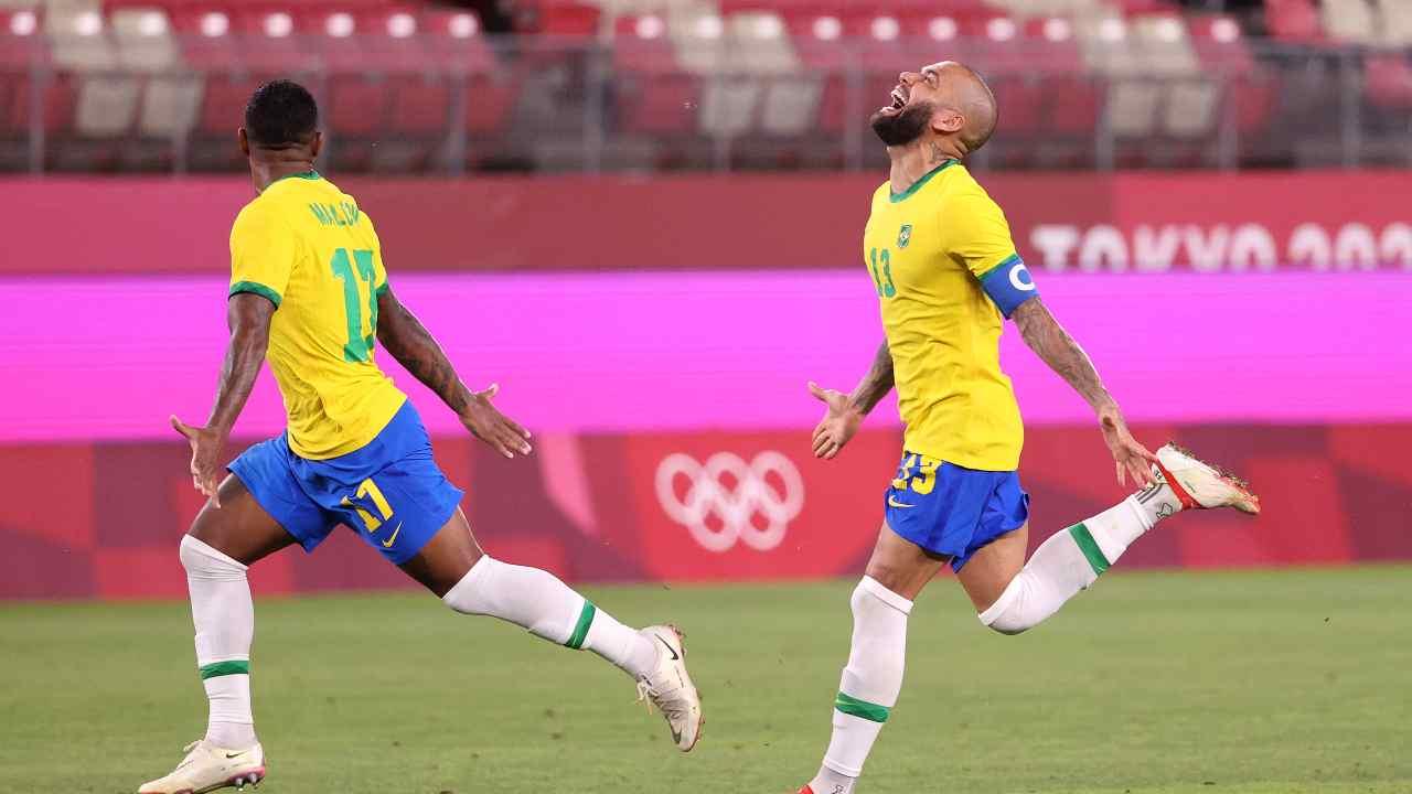 Brasile Olimpiadi Dani Alves