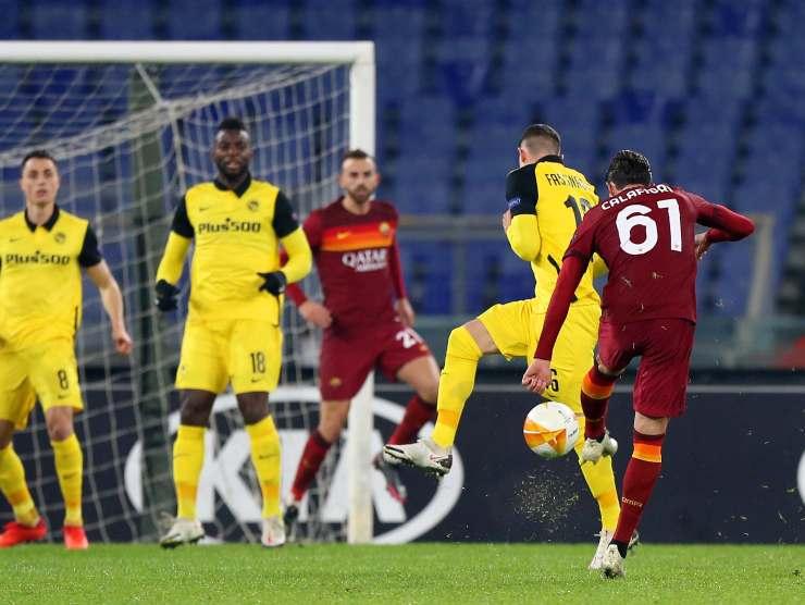 Calafiori al tiro con Roma - Getty Images