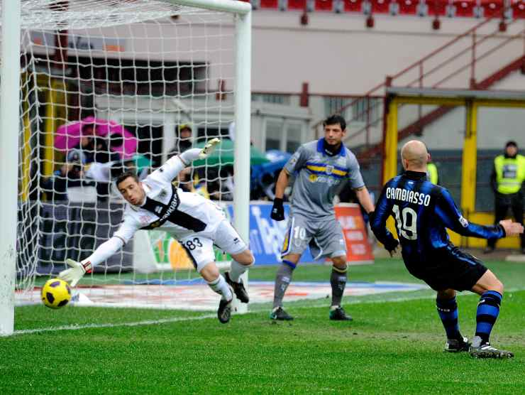 gol Cambiasso - Getty Images