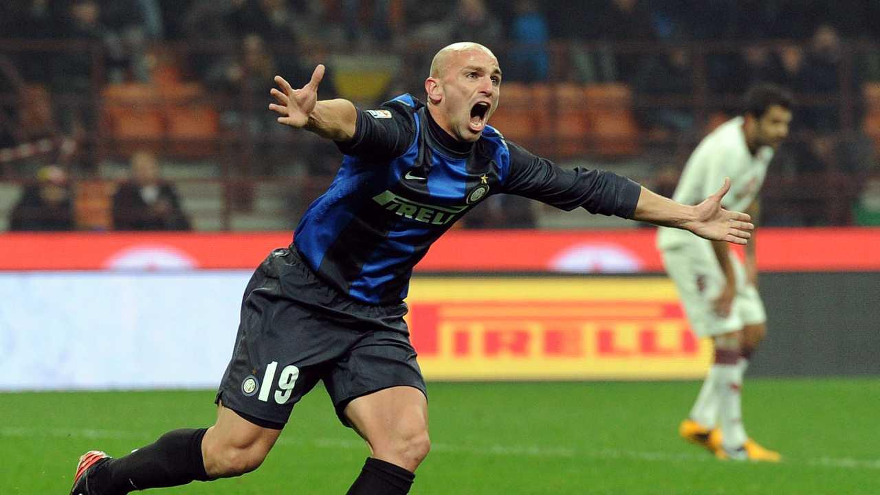 Cambiasso in volo - Getty Images
