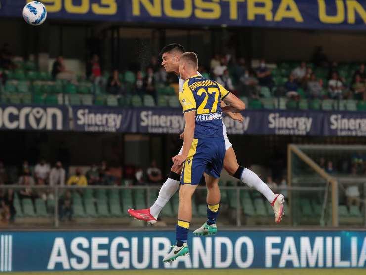 Correa gol Verona Inter