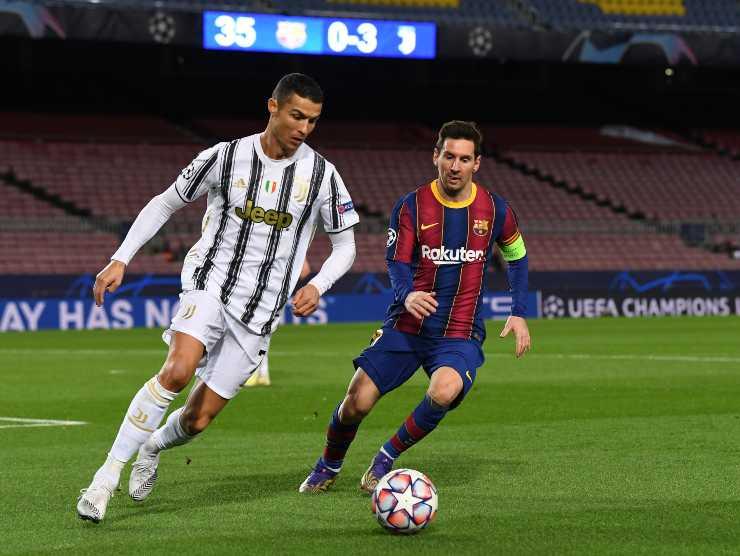 Cristiano Ronaldo Messi Juventus
