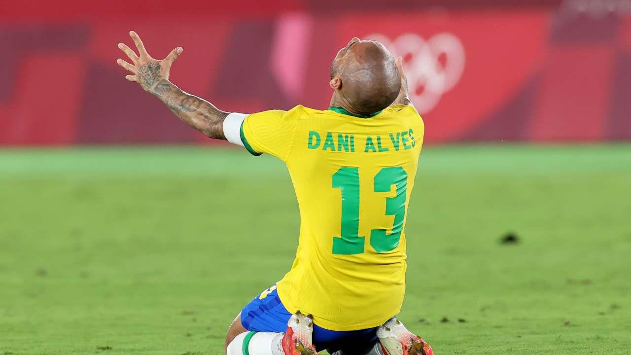 Dani Alves Brasile Olimpiadi