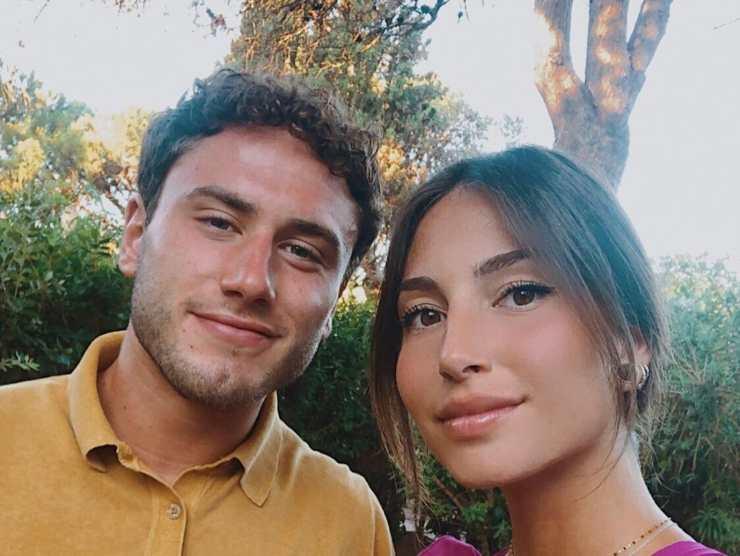 Davide Calabria fidanzata Ilaria Belloni