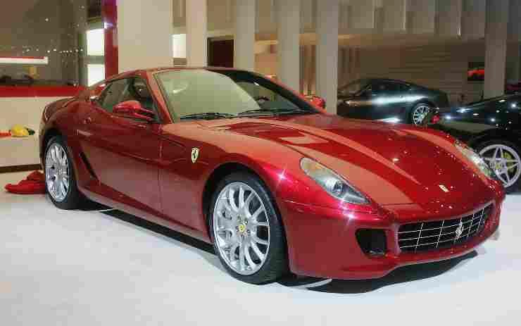 Ferrari 599 in mostra