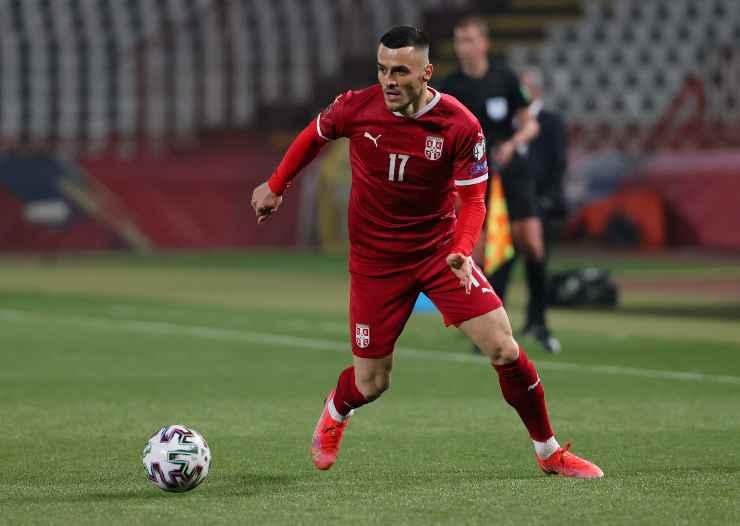 Filip Kostić in campo