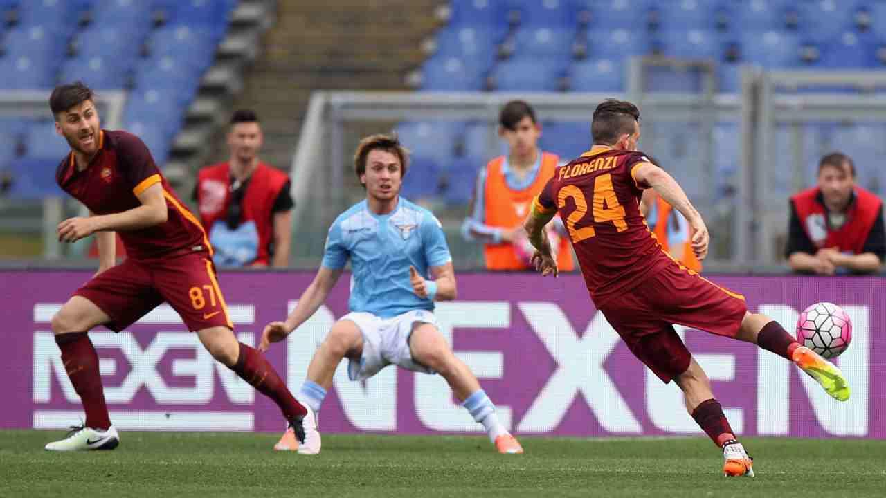 Florenzi gol Lazio
