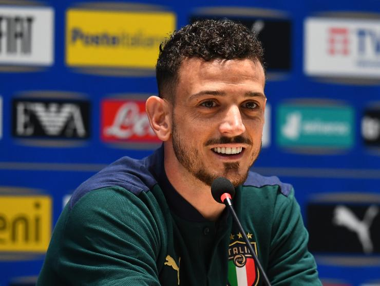 Florenzi in conferenza - Getty Images