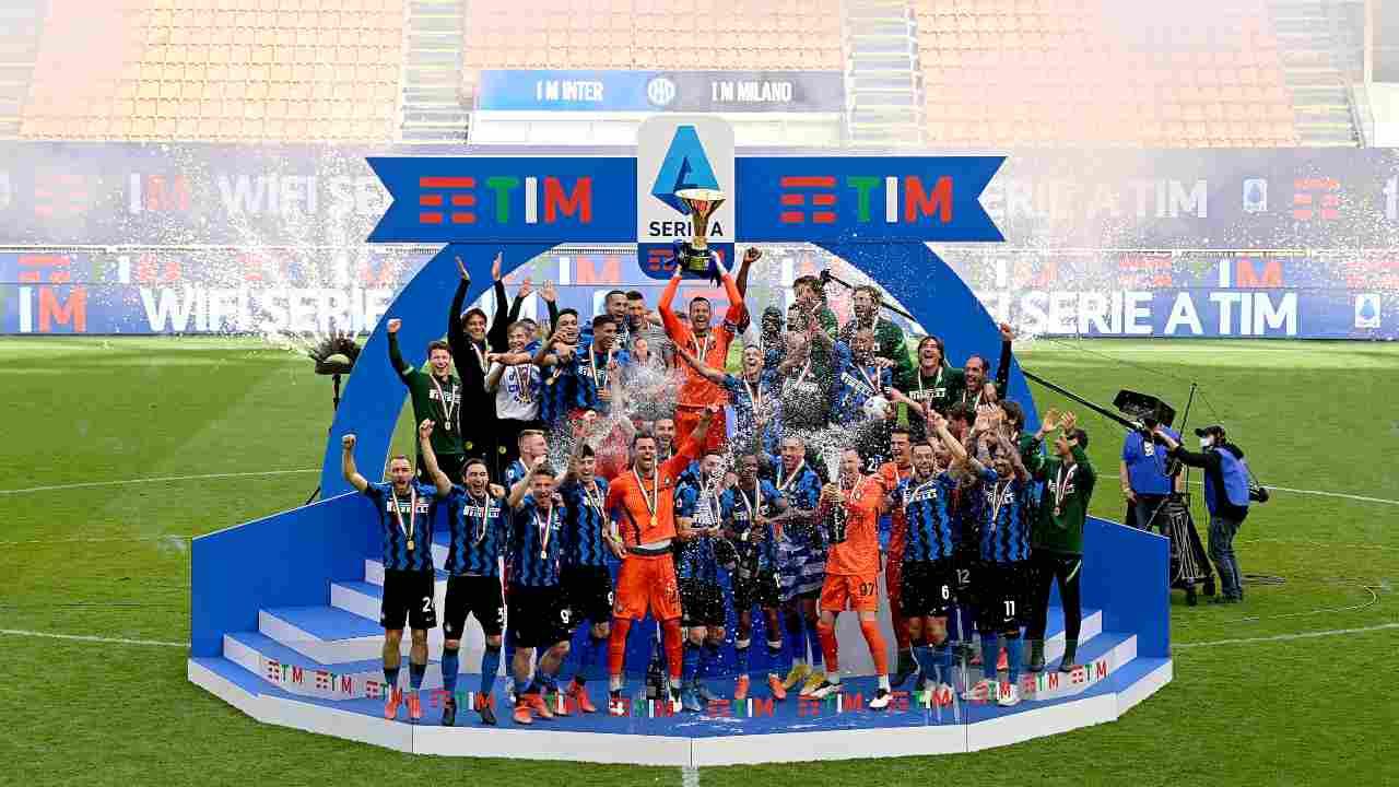 inter campione nel 2021 - Getty Images