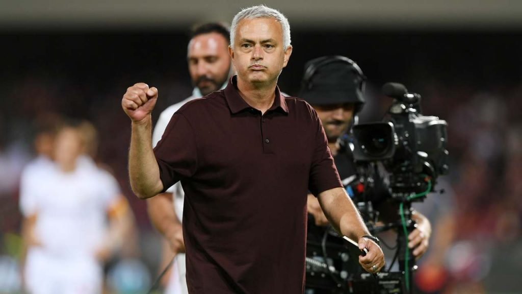 Mourinho festeggia