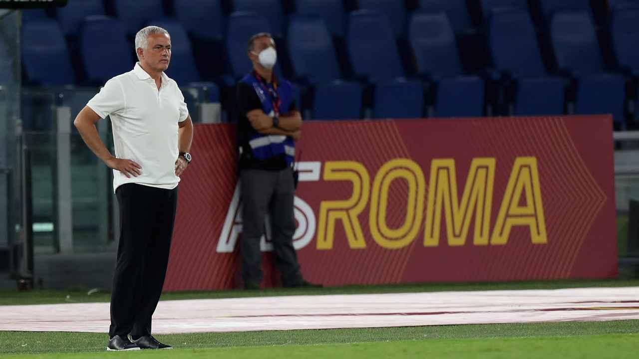 Calciomercato Roma, Jose Mourinho in campo