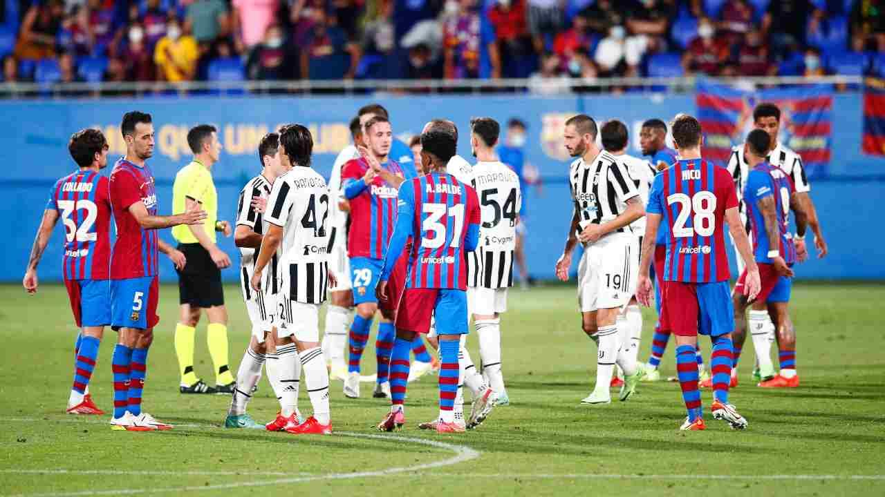 Juve-Barcellona amichevole - Getty Images
