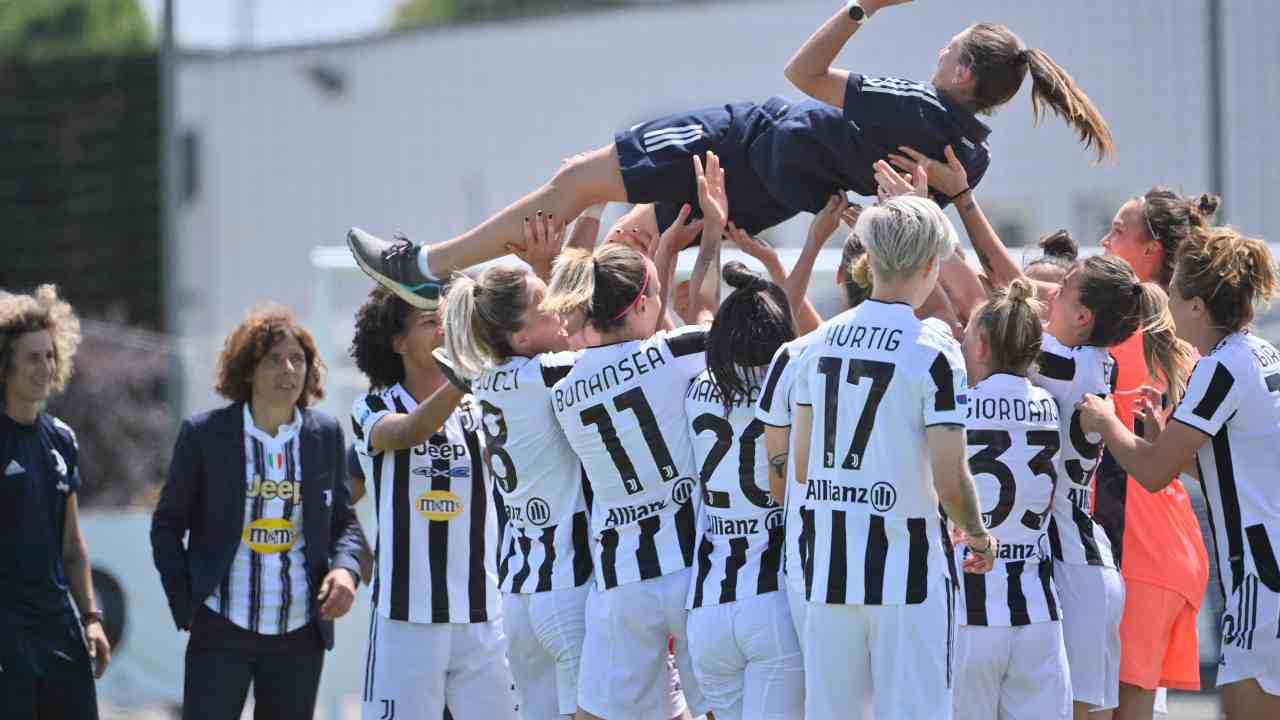 La Juve festeggia - Getty Images