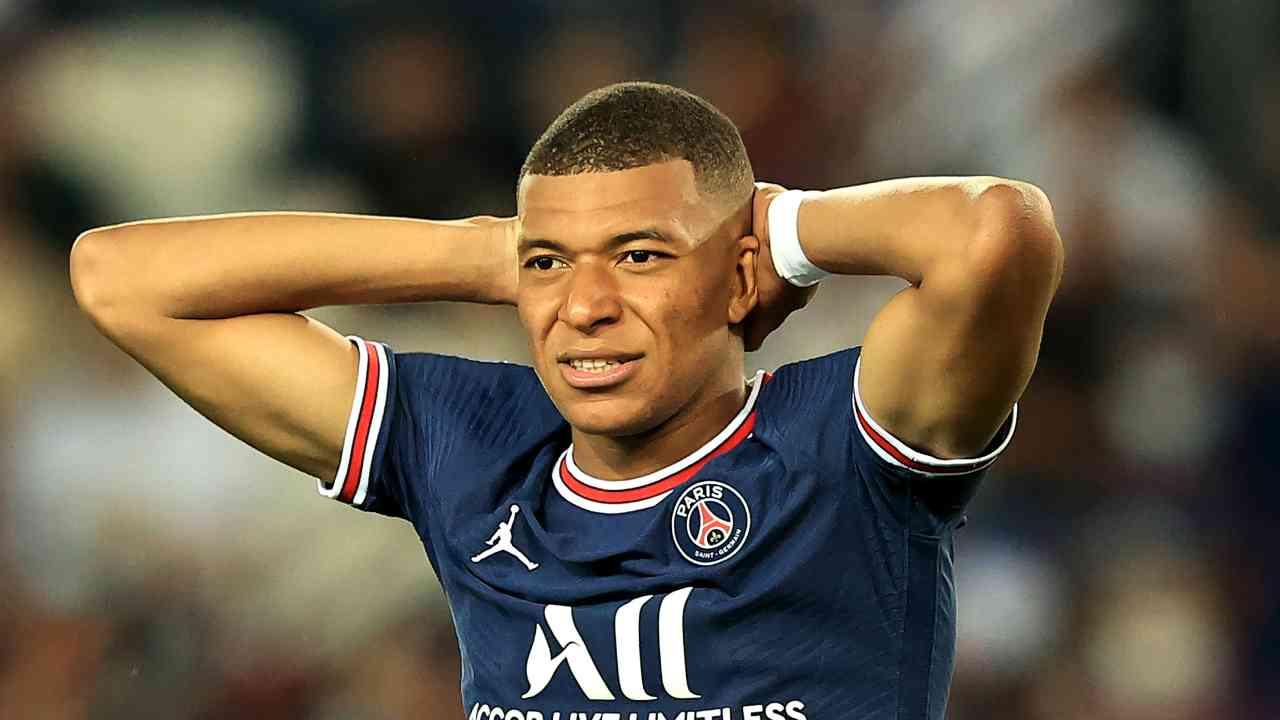 Kylian Mbappe PSG