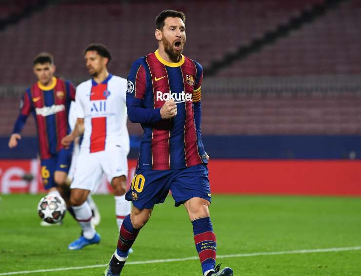 Leo Messi Barcellona PSG