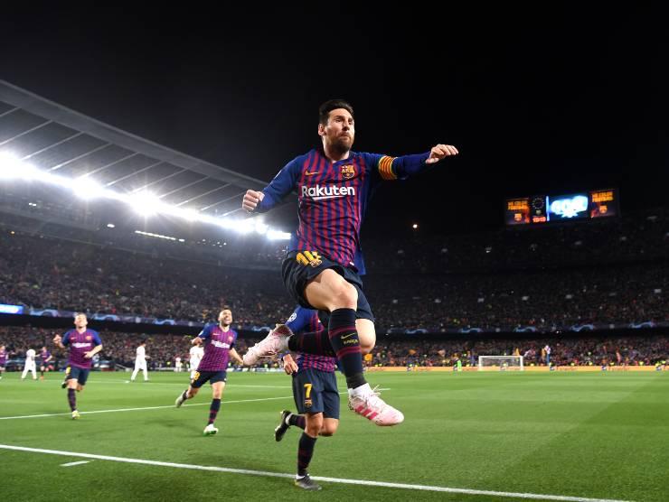Leo Messi esulta - Getty Images
