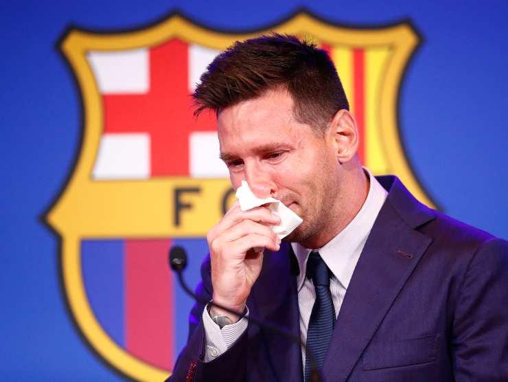 Leo Messi fazzoletto