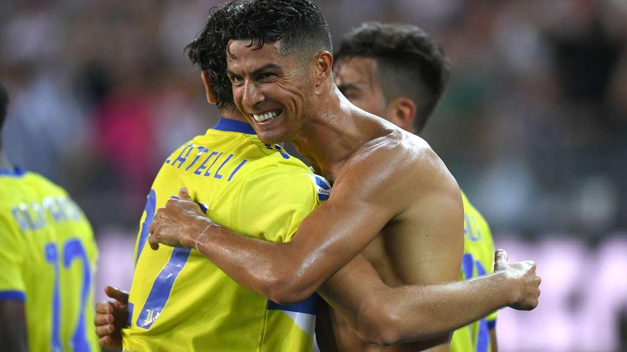 Locatelli e Ronaldo - Getty Images