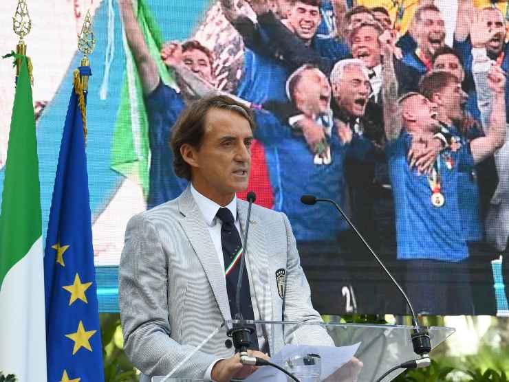 Intervento di Mancini - Getty Images