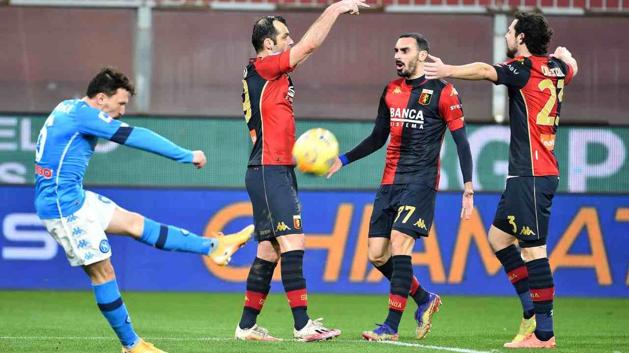Genoa Napoli Mario Rui - Getty Images
