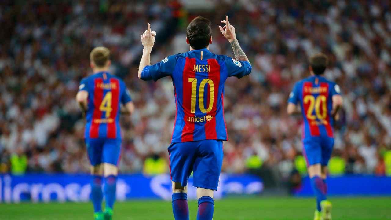 Messi 10 Barcellona