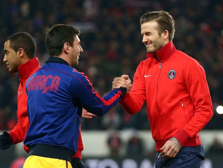 Messi Beckham
