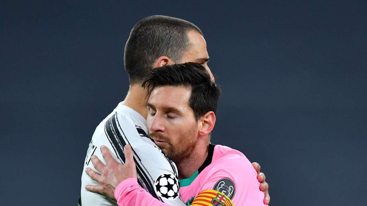 Messi Bonucci Juventus