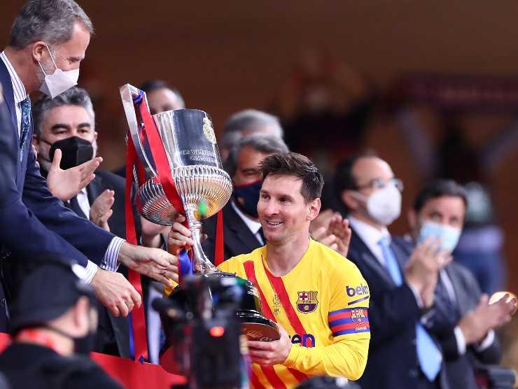 Messi Coppa del Re Barcellona