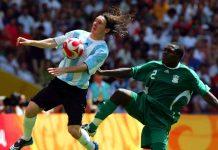 Messi contro la Nigeria - Getty Images
