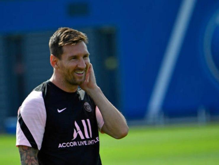 Lionel Messi, attaccante del PSG