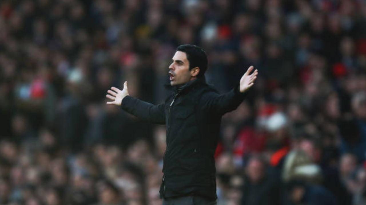 Mikel Arteta, l'allenatore dell'Arsenal