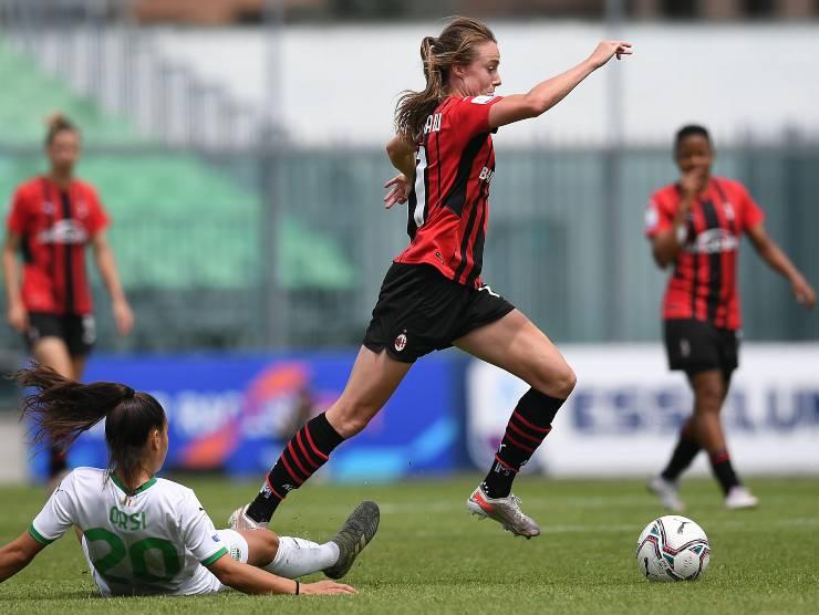 Milan-Sassuolo femminile - Getty Images