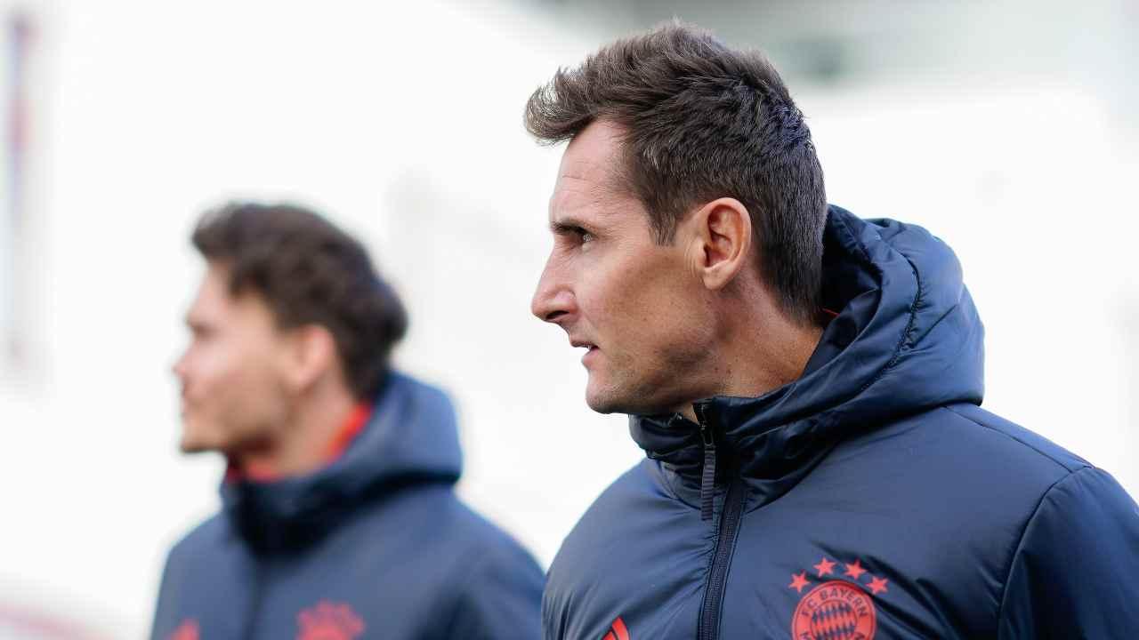 Miroslav Klose di profilo