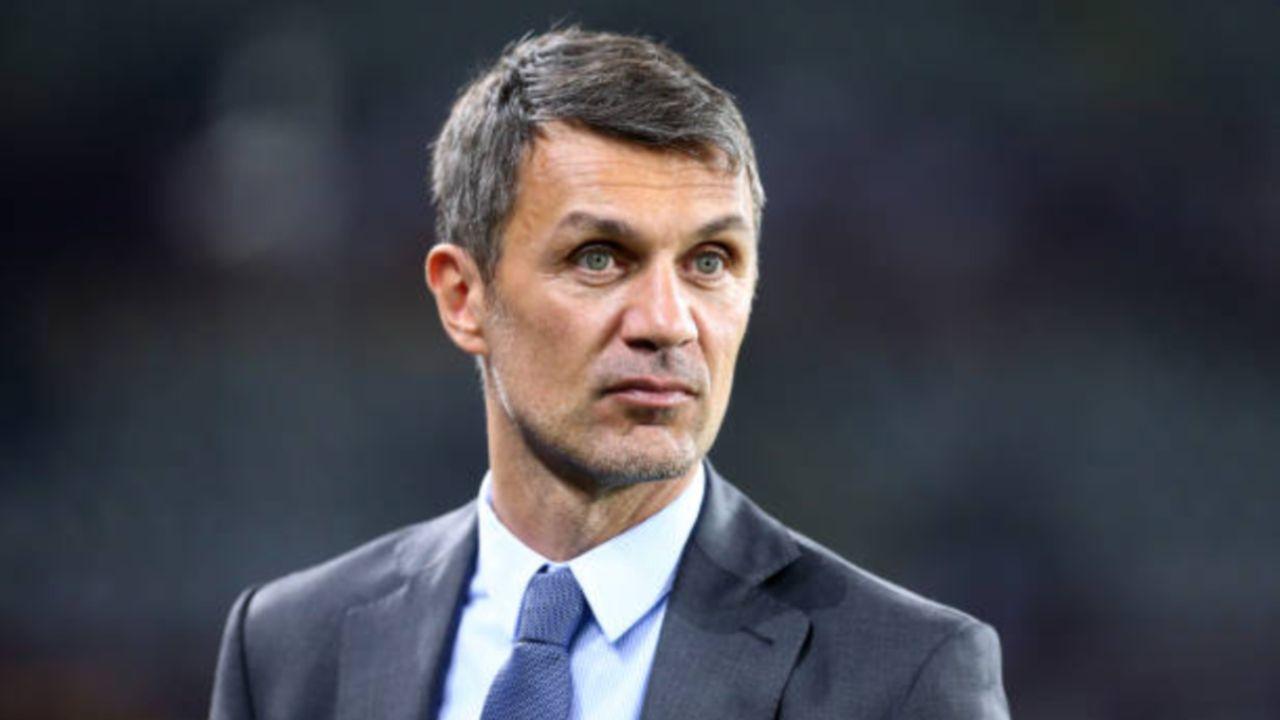Paolo Maldini, il direttore dello sviluppo strategico dell'area sportiva del Milan