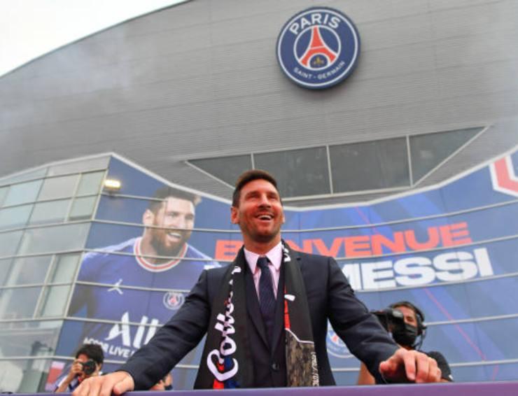 Messi, il nuovo acquisto del PSG