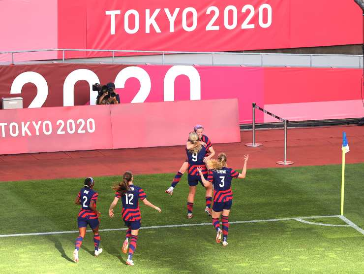 Rapinoe gol Tokyo 2020
