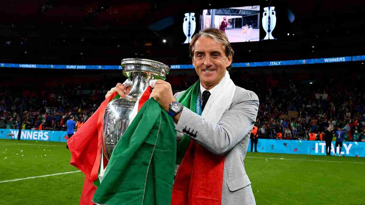 Roberto Mancini Europeo