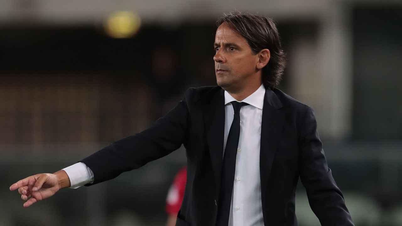 Calciomercato Inter, Simone Inzaghi in primo piano