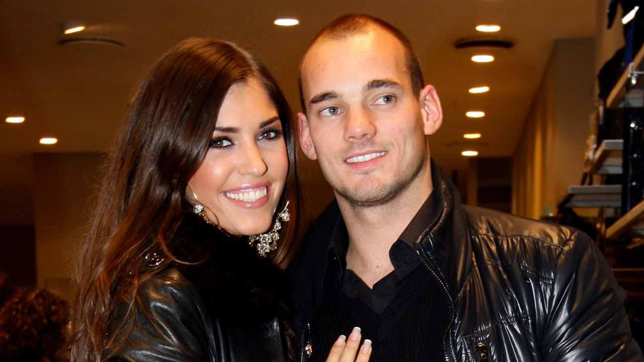Sneijder moglie Yolanthe