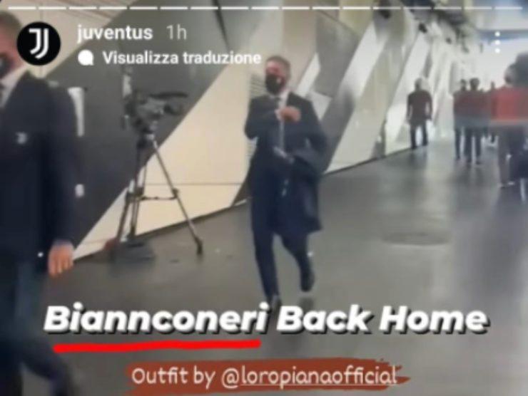 La storia messa sul profilo ufficiale della Juventus per prendere in giro Ronaldo