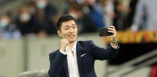 Zhang Inter selfie