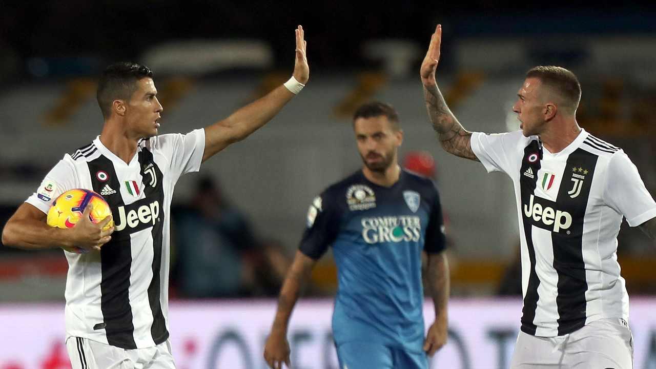 Ronaldo a Empoli - Getty Images
