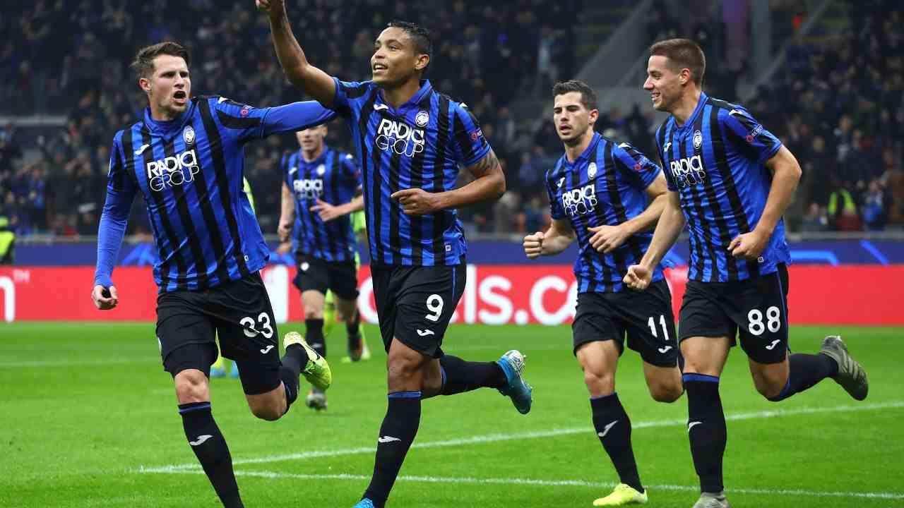 Atalanta post gol - Getty Images